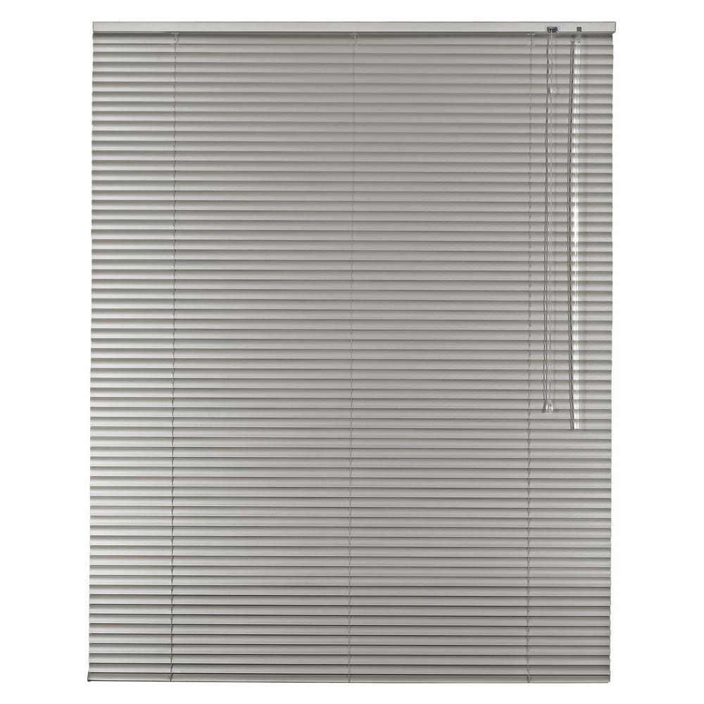 Aluminium Jalousie Alu Jalousette Jalusie Fenster Tür Rollo - Höhe 250 cm grau  | Haltbar