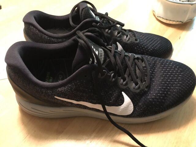 Nike Lunarglide 9 Men's Running Shoes Sz 11 Black 904715 001