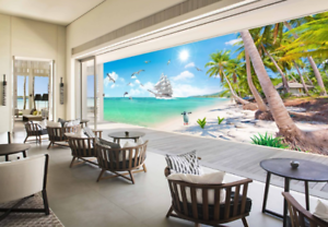 3D Strand Ozean Himmel 5 Tapete Tapeten Mauer Foto Familie Tapete Wandgemälde DE