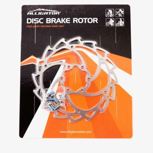 140mm 160mm 180mm 203 mm New Alligator WIND CUTTER MTB Road Disc brake rotor
