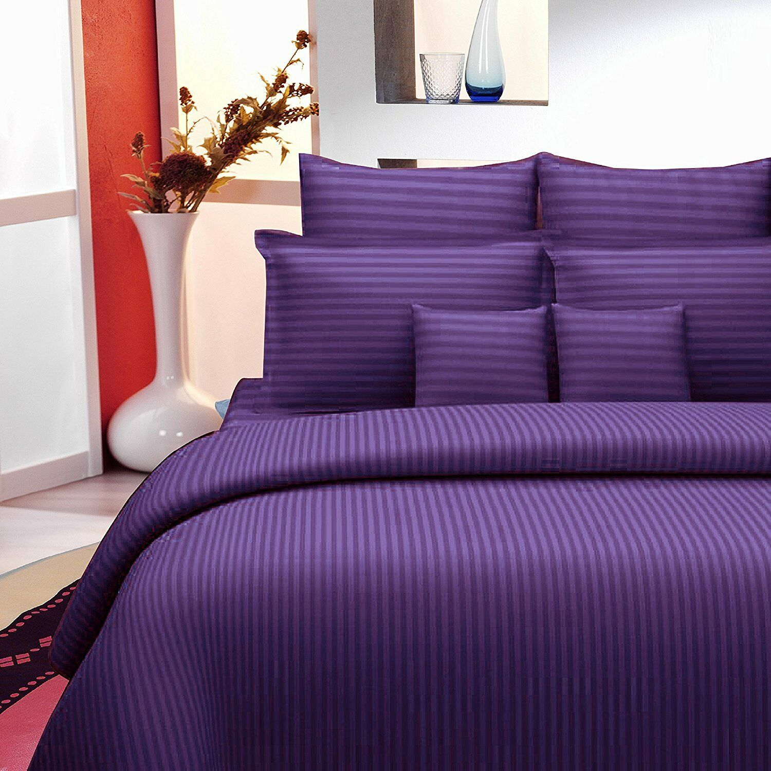 King Size Premium King Size Sheet Cotton Bed Spread With Pillow Case Coverlet