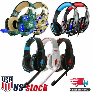 Gaming-Headset-Surround-Stereo-Headband-Headphone-USB-3-5mm-LED-with-Mic-for-PC