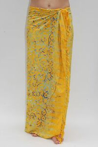 5916831beb6ed Image is loading NEW-PREMIUM-QUALITY-YELLOW-SARONG-PAREO-BEACH-POOL-