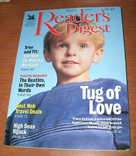 READER'S DIGEST 2001 MAR THE BEATLES;20-MINUTE WORKOUT;TRAVEL;SPENCER KASS