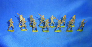 Details about Attic Found Lot of 13 Antique Tin / Pewter Toy Soldiers World  War One WW I #BM4