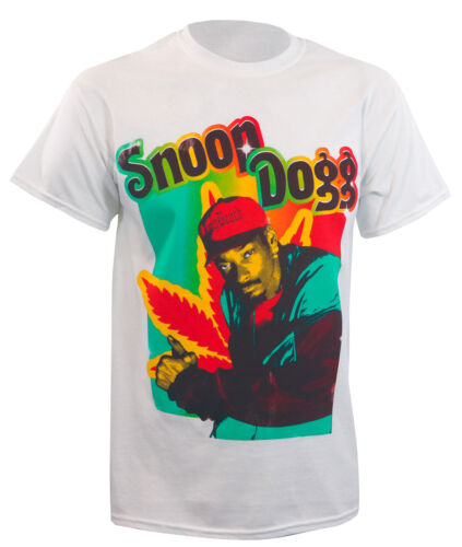 Authentic SNOOP DOGG Rasta Sparkle Logo T-Shirt S M L XL 2XL NEW