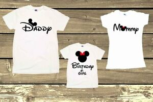 Minnie Party Shirts Mouse Birthday Girl Personalized