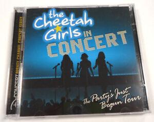 The-Cheetah-Girls-in-Concert-Walt-Disney-2-Disc-CD-amp-DVD-2007-NEU