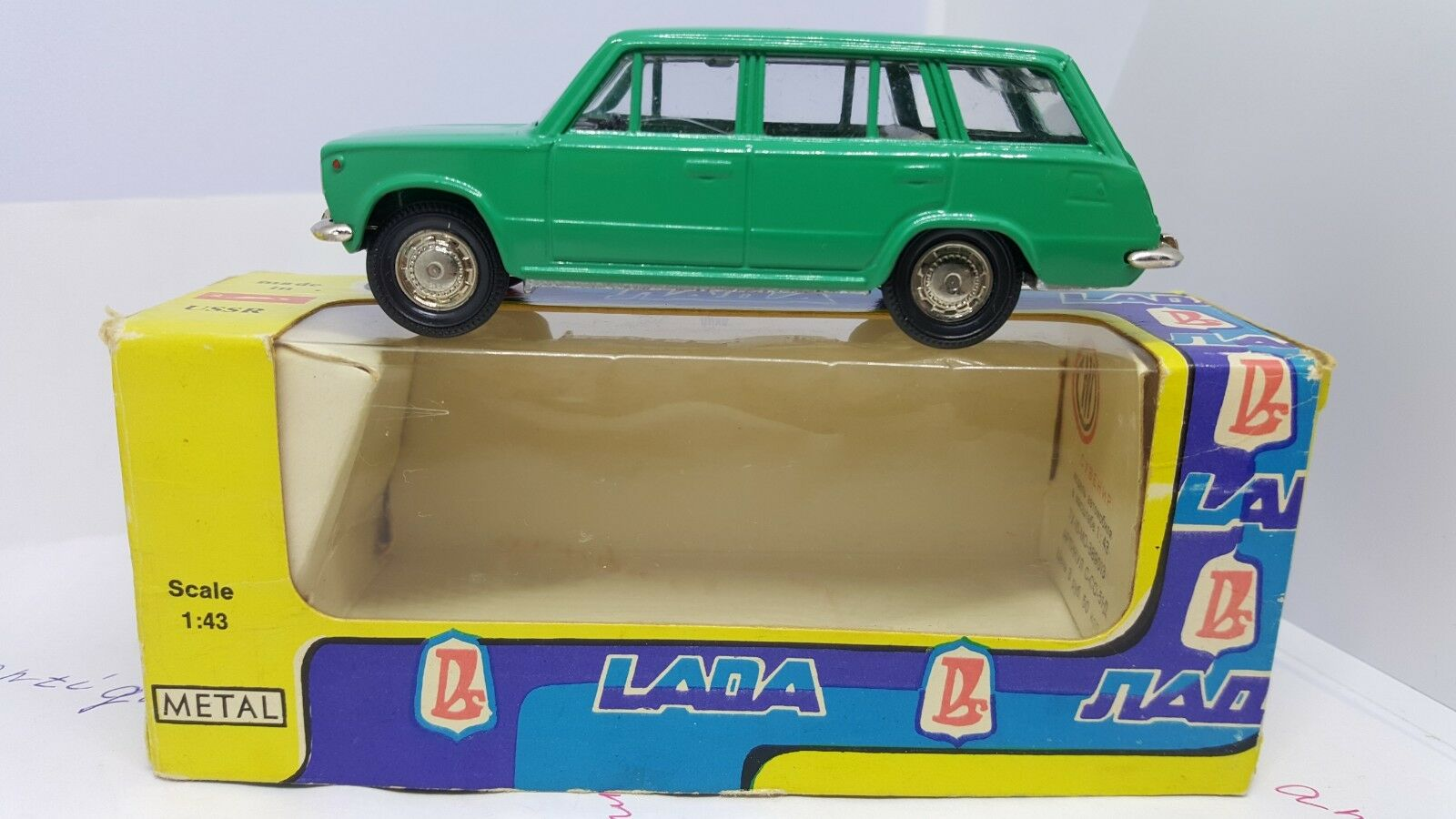 LADA VAZ 2102 A 11. Made in Ussr Tantal 1 43  In original Box 1980 year .