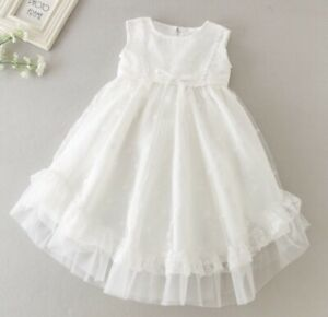 Baby-Girl-Sleeveless-Christening-Dress-Girls-Lace-Baptism-Dress-Embroidered