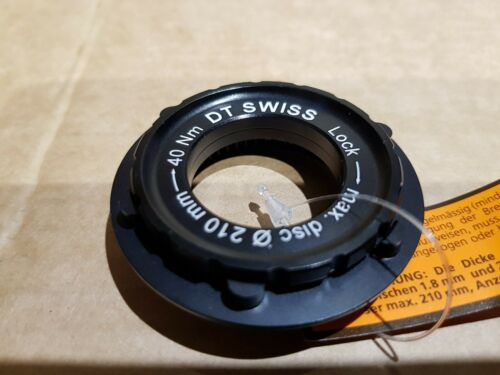 DT SWISS CENTRE-LOCK TO 6-BOLT IS ADAPTER /& LOCKRING 15 20MM AXLE
