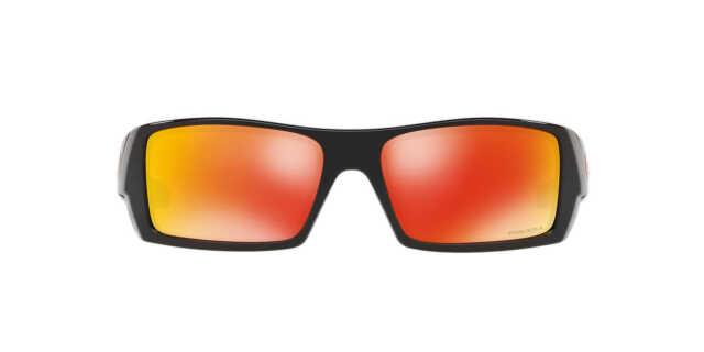 73af6a4cde Oakley Gascan Sunglasses Polished Black Frame Prizm Ruby Lenses Oo9014-4460