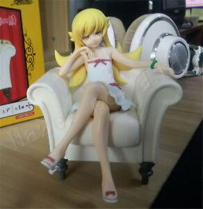 Lebendige-Bakemonogatari-Oshino-Shinobu-5-039-039-PVC-neue-Box-Figur-Spielzeug