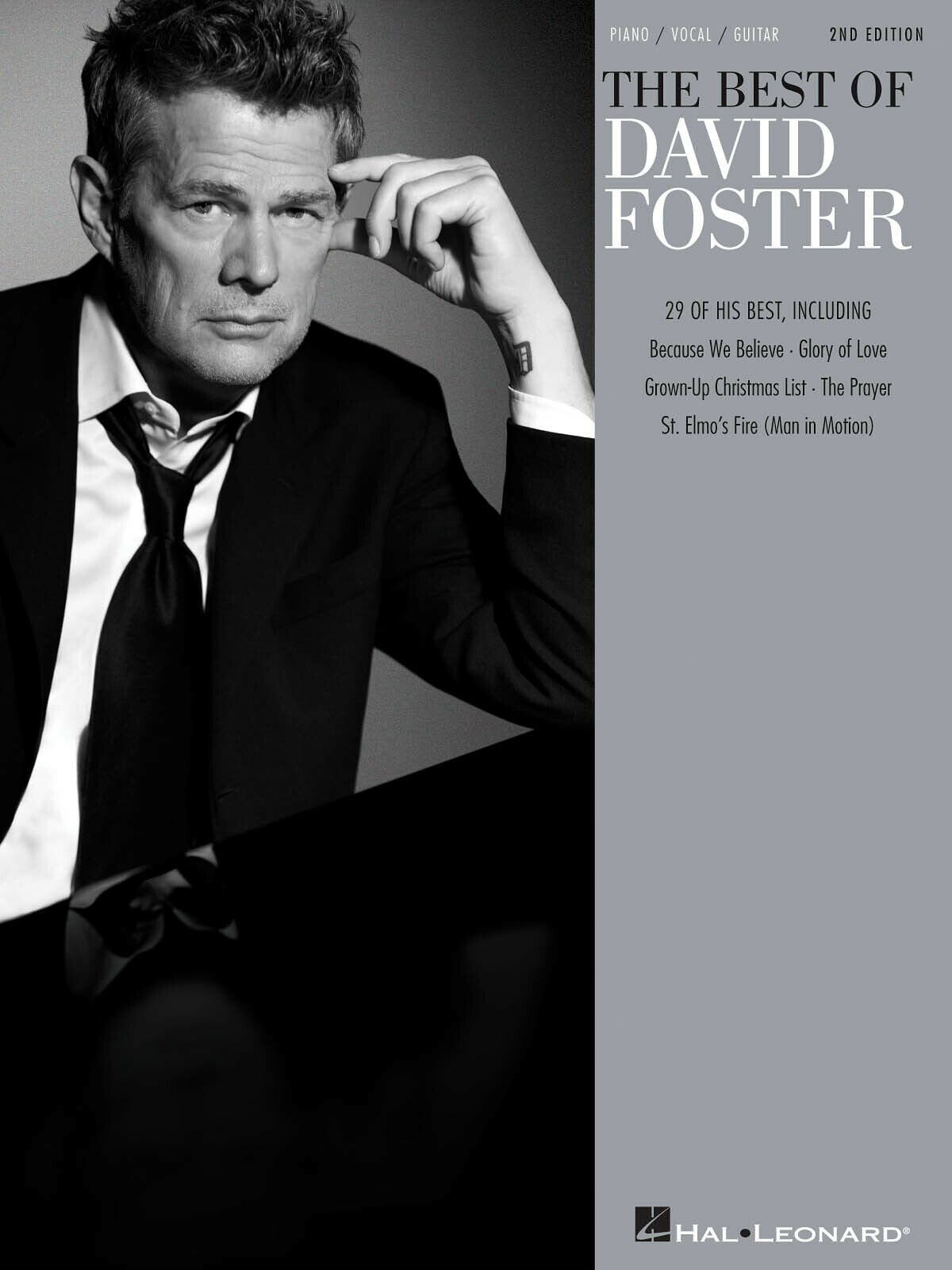 Best Of David Foster Piano Sheet Music Guitar Chords 29 Pop Songs Book For Sale Online