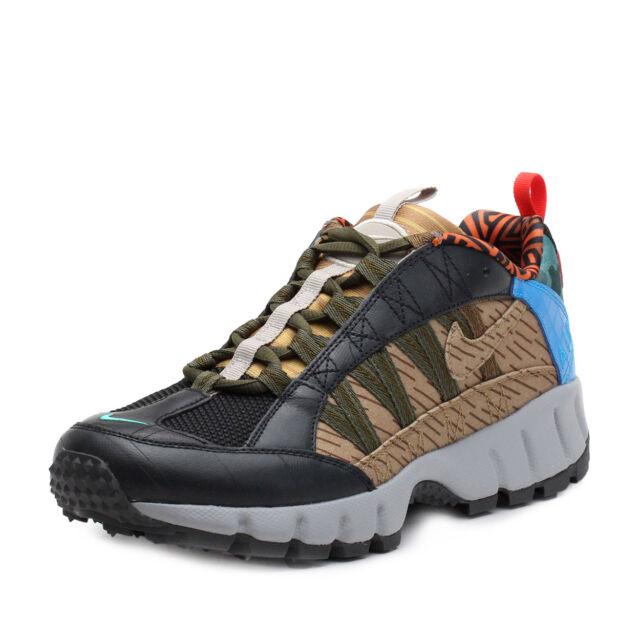 0abbc30303c5 Nike Air Humara 17 Premium Trail Shoes Size 9.5 Mens Black Blue ...