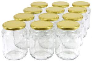 720 ml Einweckgläser mit Deckel Einmachgläser Vorratsgläser Einmachglas Weck
