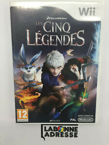 WII-JEU-VIDEO-LES-CINQ-LEGENDES-COMPLET-NINTENDO-MULTI-LANGUES