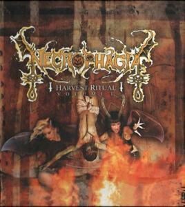 NECROPHAGIA-Harvest-Ritual-Vol-1-CD-DIGIBOOK-10-trks-SEALED-NEW-2005-Coffin-USA