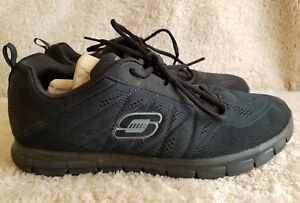 99f44cdfa64c Men s Black Skechers Lite Weight Memory Foam Athletic Shoes Size ...