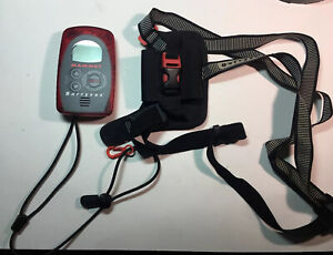 Mammut Barryvox Opto 3000 457 kHz Avalanche Beacon W Harness Tested Transmitter