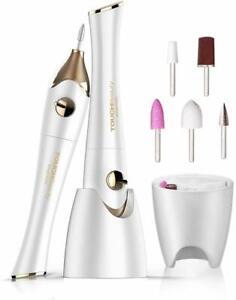 Set Manicure e Pedicure Elettrico per unghie con 5 accessori Professionale