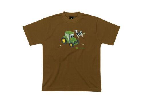 John Deere Kids Johnny T-Shirt in Brown