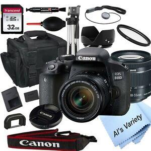 Canon-EOS-Rebel-800D-T7i-24-2MP-w-EF-S-18-55mm-STM-Lens-18PC-Bundle