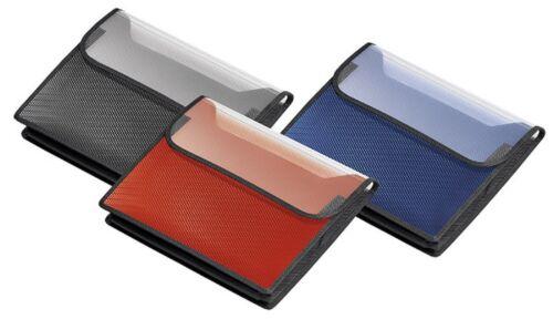 12x A4 VELOFLEX Sammelbox Heftbox VELOBAG® farblich SORTIERT  Querformat 1443402
