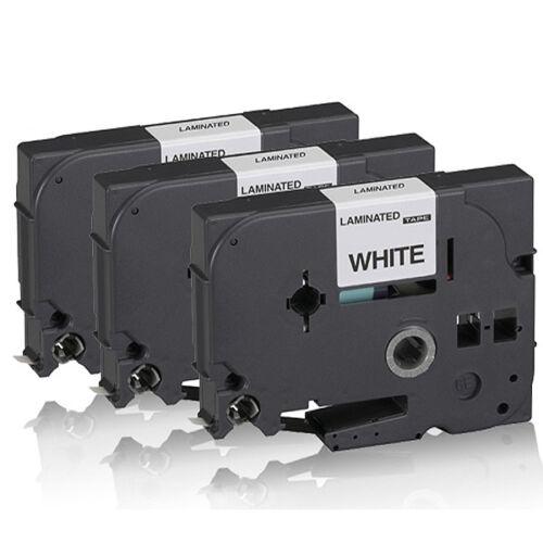 3x Kompatibel Schriftbänder für Brother P Touch-9400 TZE-221 TZ-221 P-Touch
