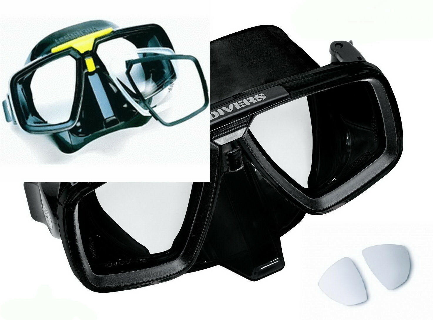 Technisub Komfort | Glas Optisches Aqualung Gläser Optische