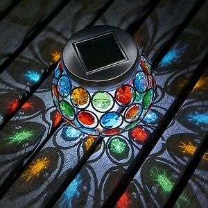 Auraglow-Mosaic-Solar-Light-Table-Centerpiece-LED-Garden-Alfresco-Dining-Lamp