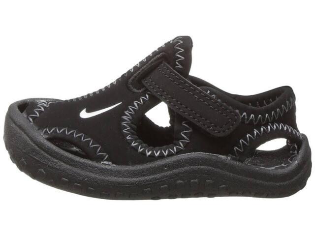 uk availability 251c8 b347b Nike Toddler s SUNRAY PROTECT WATERPROOF TD SANDAL Black 903632-001 b Size 2