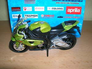 MAISTO-BMW-S-1000-RR-S1000-RR-S-1000-RR-Grigio-Metallico-1-18-MOTO