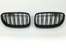BMW E90 E91 3 Series M3 Style 2008+ LCI Kidney Grill Grille Gloss Black TWIN BAR