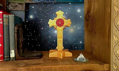 AMORC Rosicrucian Hermetic Cross - Home Sanctum 1950s - extremely Rare! Snag it!