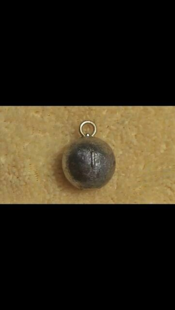 cannon ball sinkers fishing lead 100pcs.4oz weights