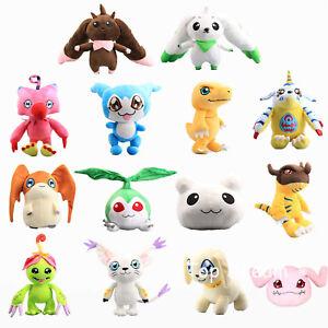 Digital-Monster-Digimon-Adventure-Terriermon-Biyomon-Agumon-Plush-Toy-Doll-Gift