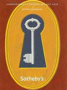 Sotheby's /// Impressionist Modern Art Day Post Auction Catalog November 2010