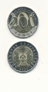 Kazakhstan-Kazakhstan-200-Tenge-2020-UNC-BI-METAL