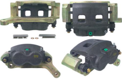 Disc Brake Caliper-Unloaded Caliper with Bracket Front Left Cardone Reman