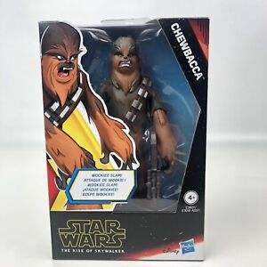 Star-Wars-Galaxy-of-Adventures-Chewbacca-5-034-Action-Figure-Rise-of-Skywalker-NIB