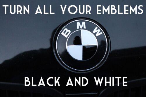 BMW Emblem Overlay Vinyl 520Li 523Li 528Li 530Li 535Li 528i 530i 535i 535xi