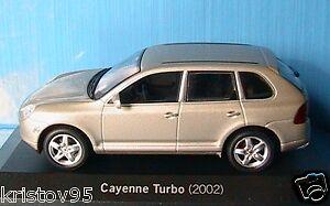 PORSCHE CAYENNE TURBO 2002 PEARL OR MINICHAMPS 1 43 CHAMPAGNE WAP C20 Set 01