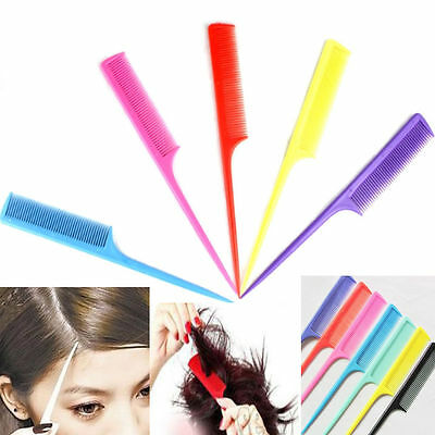 Lovely Hair Make Accessory Care Styling Pointed Rat Tail Comb Durable New