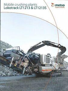 Equipment-Brochure-Metso-Lokotrack-LT1213-S-Mobile-Crushing-Plant-E3634