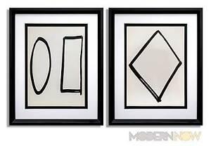 2 Ellsworth KELLY Lithograph LIMITED Ed. ORIGINAL 1964 + (Set of 2 ) **FRAMING