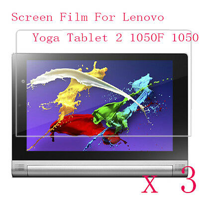 3 Glossy Matte Screen Protector Guard Film F Lenovo Yoga Tablet 2 10 1050F 1050