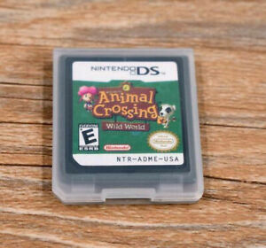 NEW-Animal-Crossing-Wild-World-For-Nintendo-DS-Game-NDS-Lite-DSi-2DS-3DS-XL