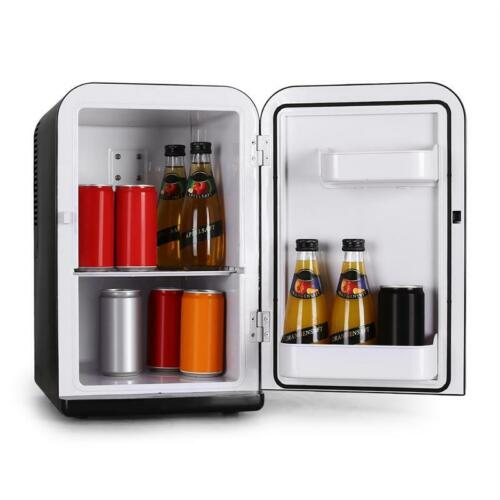 Mini bebidas hieleras viaje thermobox coche camión van camping 12v 230v negro