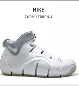 cac74ec319851 Image is loading Lebron-James-Nike-Air-Zoom-IV-Sneakers-Size-